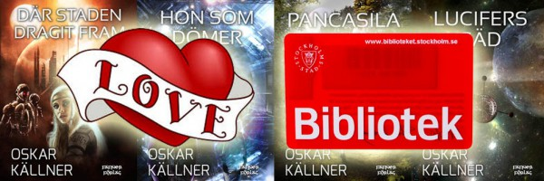 4 noveller framsida bred med bibliotekskort